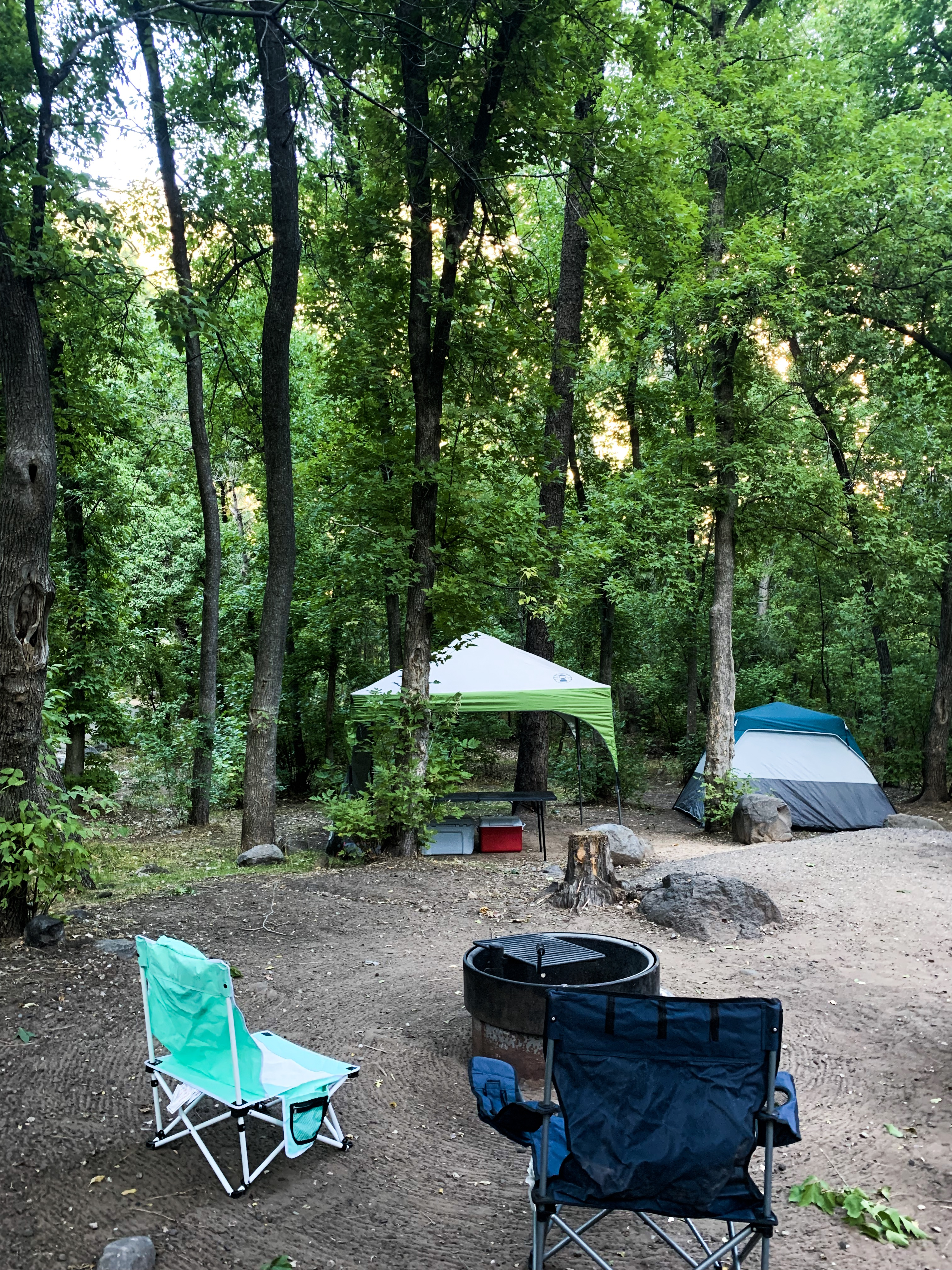 Camping Cave Springs